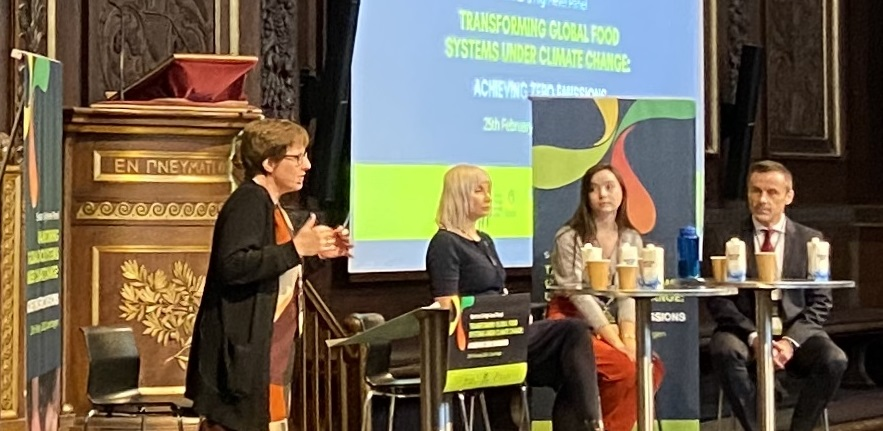 Transforming conference - Dean Katrine Krogh Andernse, Selina Juul, Sophie Healy-Thow, Liam Condon